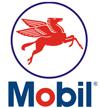 Mobil Gas Station Logo