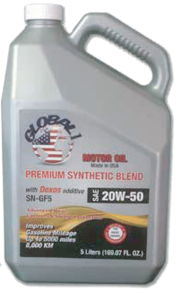 Global Synthetic Motor Oil Yatco Energy