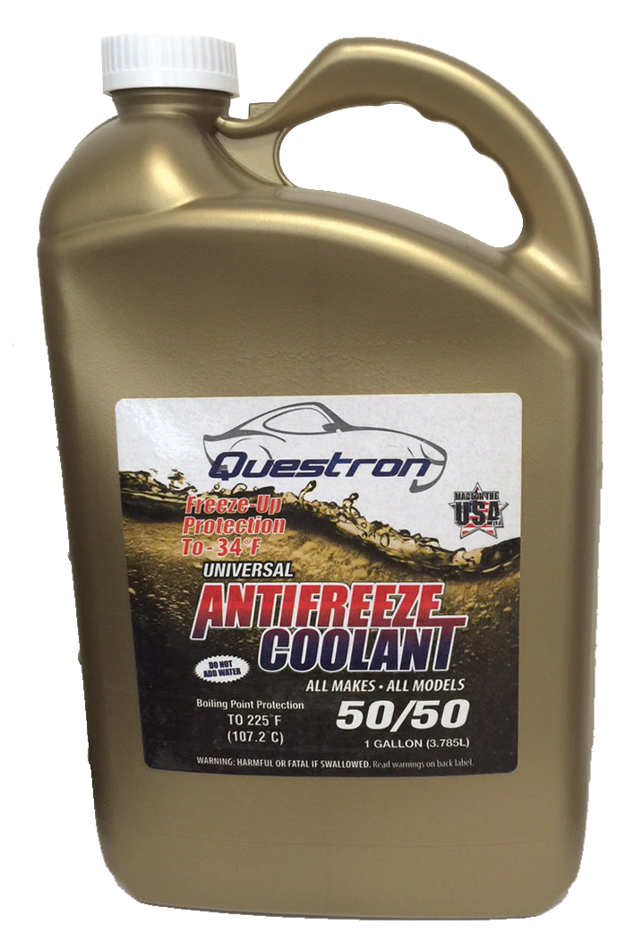 Question antifreeze coolant bottle