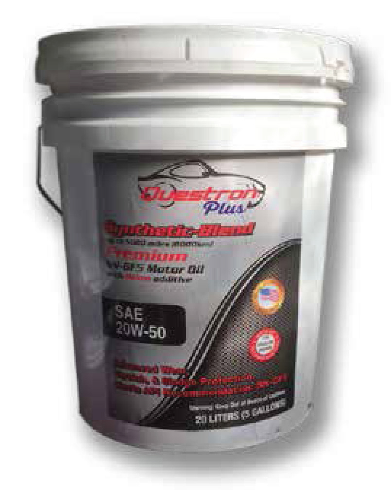 Questron Premium Motor Oil Yatco Energy
